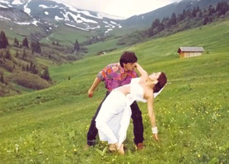 Classic Bollywood Romance in Switzerland