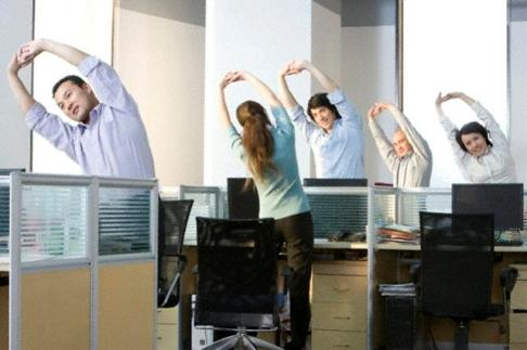 Office Yoga Moves To Help You Stay In Shape